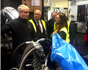Visit Cassandra production facility together with Belarussian partners.